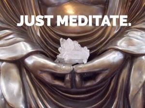 just meditate, meditation class image
