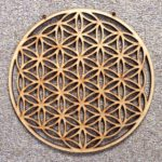 Flower of Life MDF Grid
