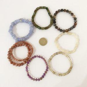 Healing gemstone jewellery