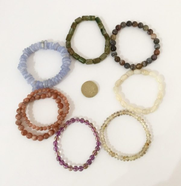 Healing gemstone jewellery
