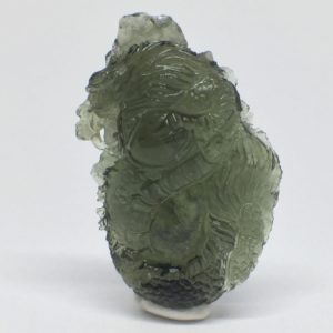 Moldavite dragon